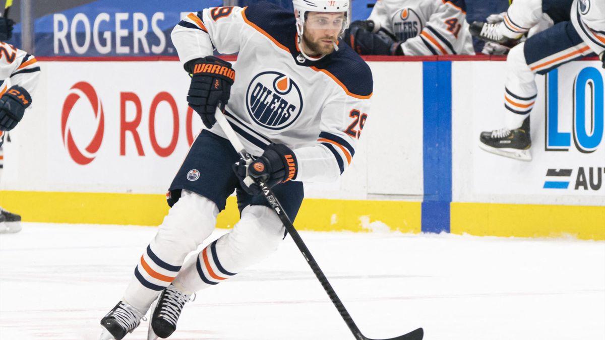 Leon Draisaitl läuft für die Edmonton Oilers auf
