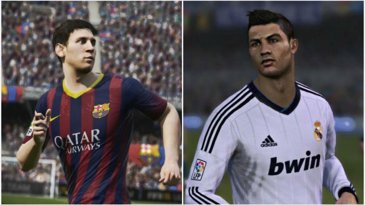 FIFA 15 Messi Ronaldo