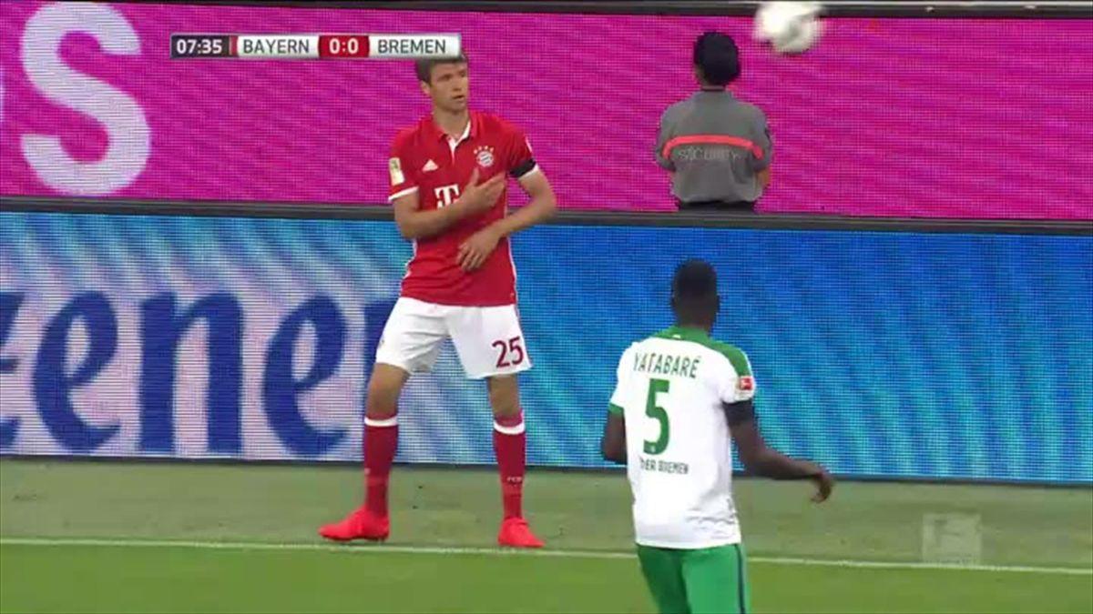 Bundesliga Bayern Munich - Werder Bremen Goal