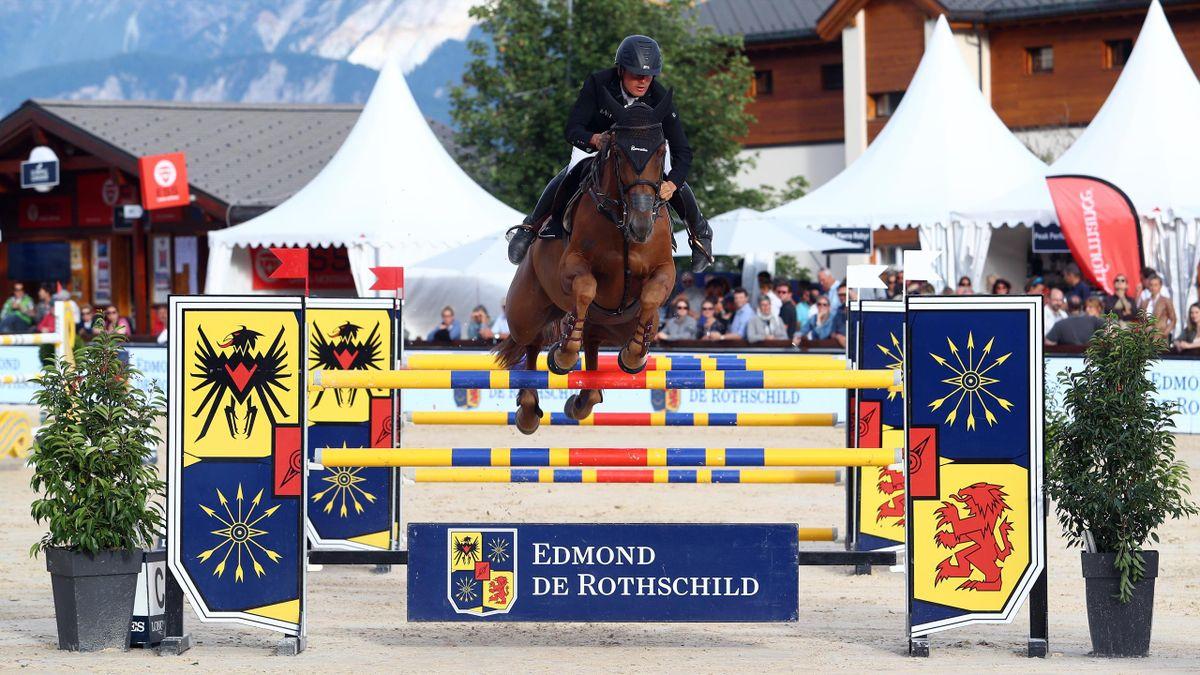 Marc Bettinger empêche les Suisses de briller au Jumping Longines de Crans-Montana