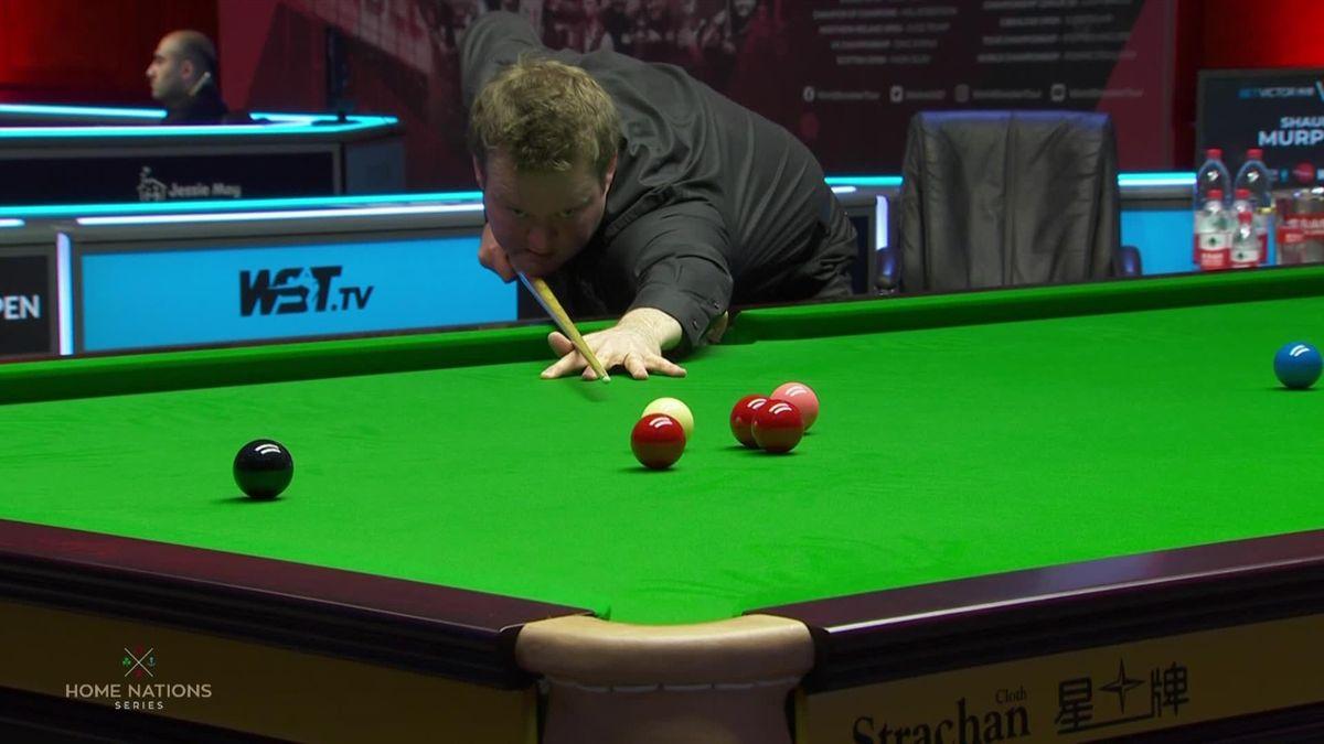 Snooker Welsh Shaun Murphy's break of 133 against Day
