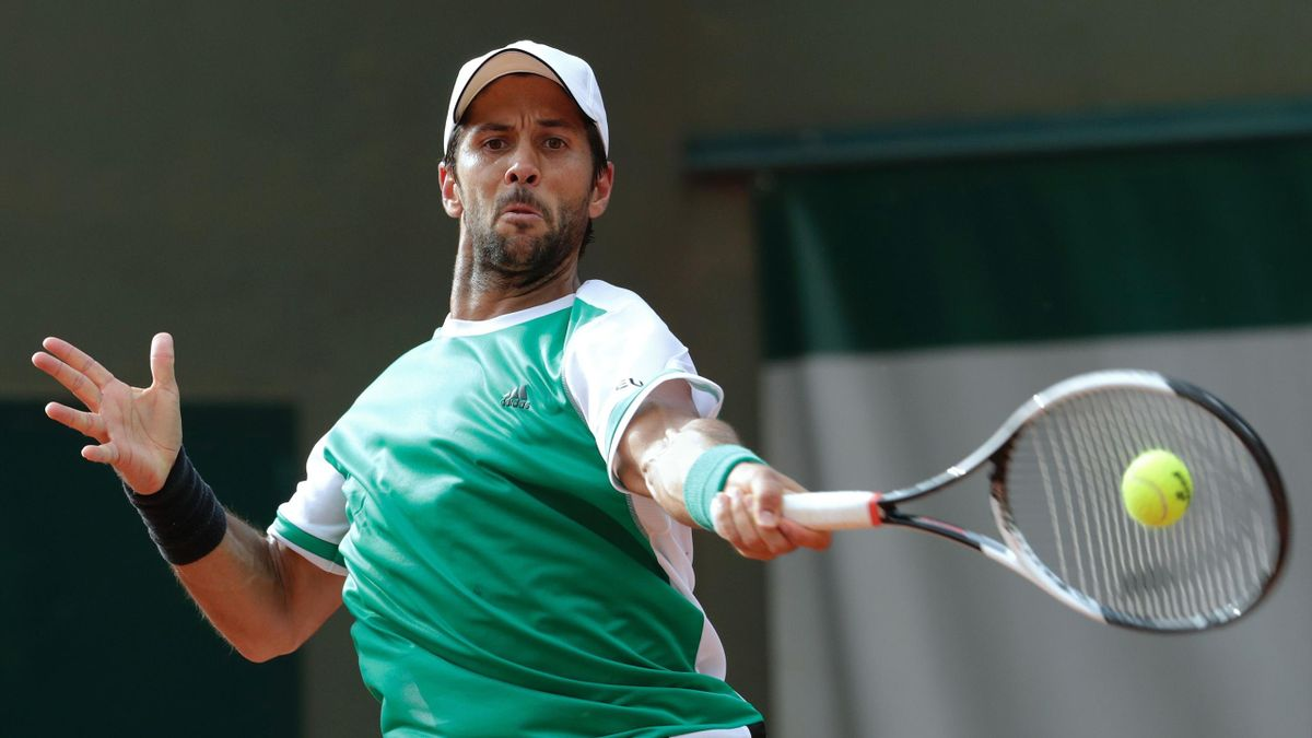 Fernando Verdasco bei den French Open