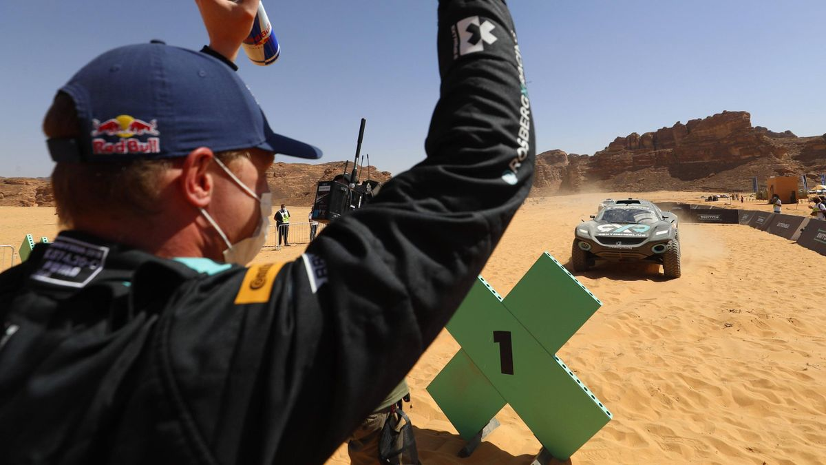 Jubel beim Team Rosberg-X-Racing