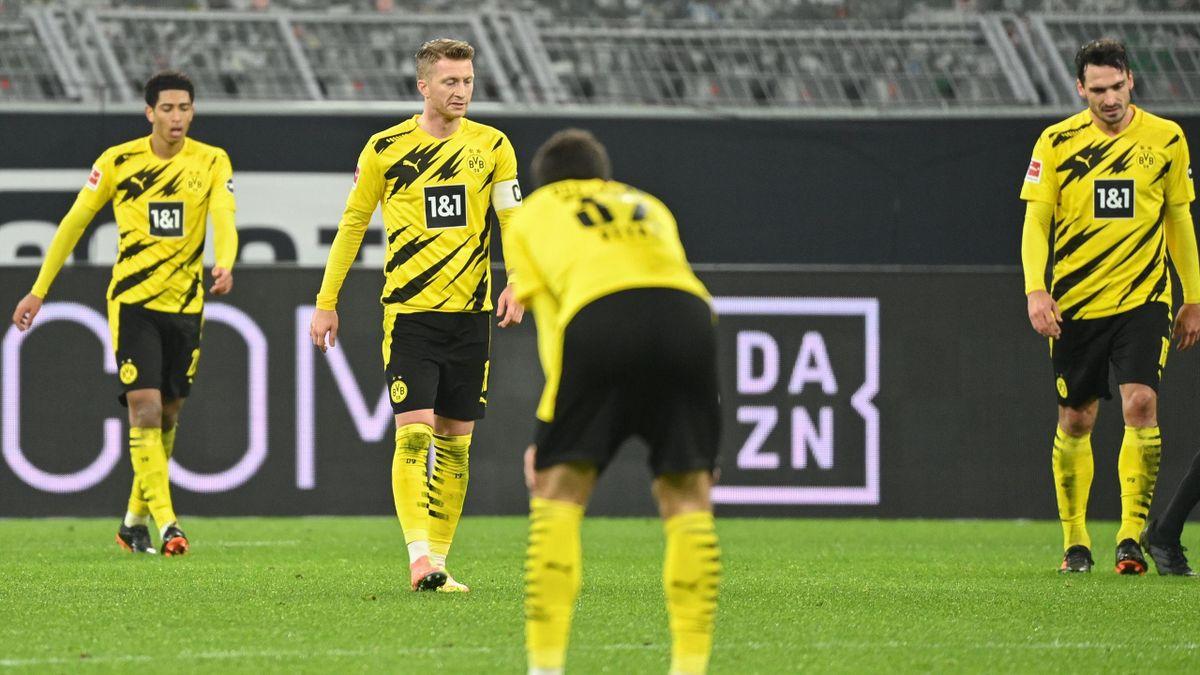 Enttäuschung in Schwarz-Gelb: Der BVB ging gegen Aufsteiger VfB Stuttgart mit 1:5 unter