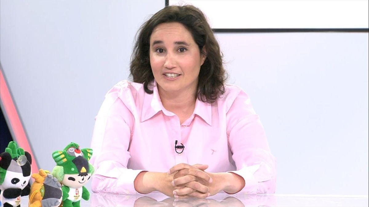 Chus Rosa desvela en 'Noches Olímpicas' el sabotaje con éxtasis que sufrieron en Bakú