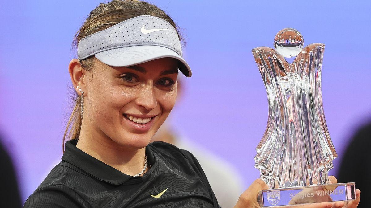 Paula Badosa gewinnt ihren ersten WTA-Titel in Belgrad