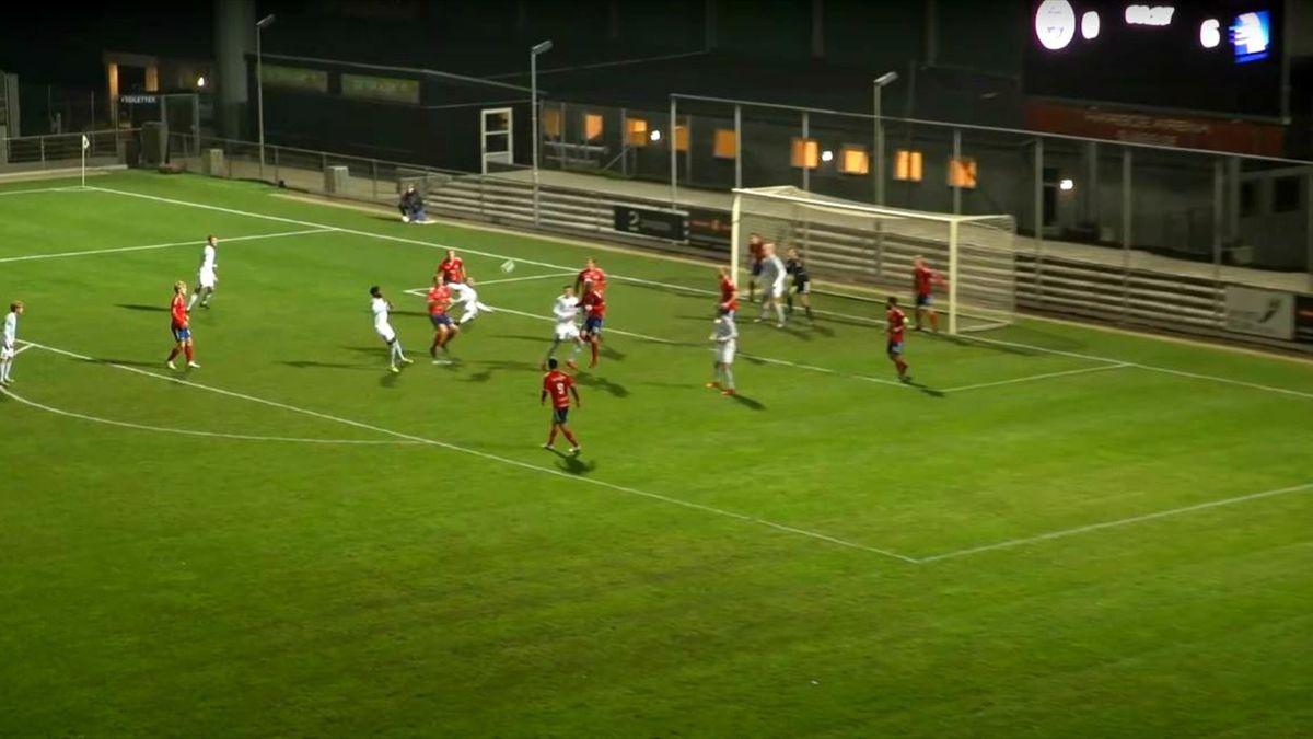Nicolai Geertsen a marcat un gol extraordinar în Cupa Danemarcei