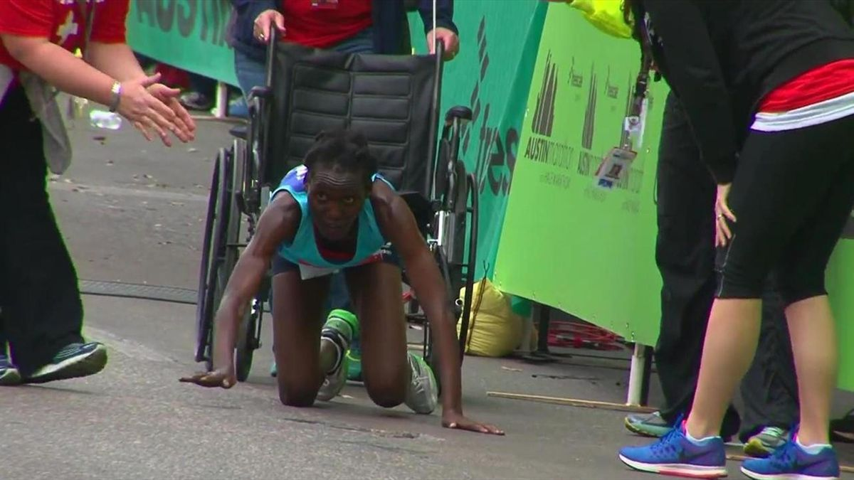 Хивон Нгетик, марафон в Остине