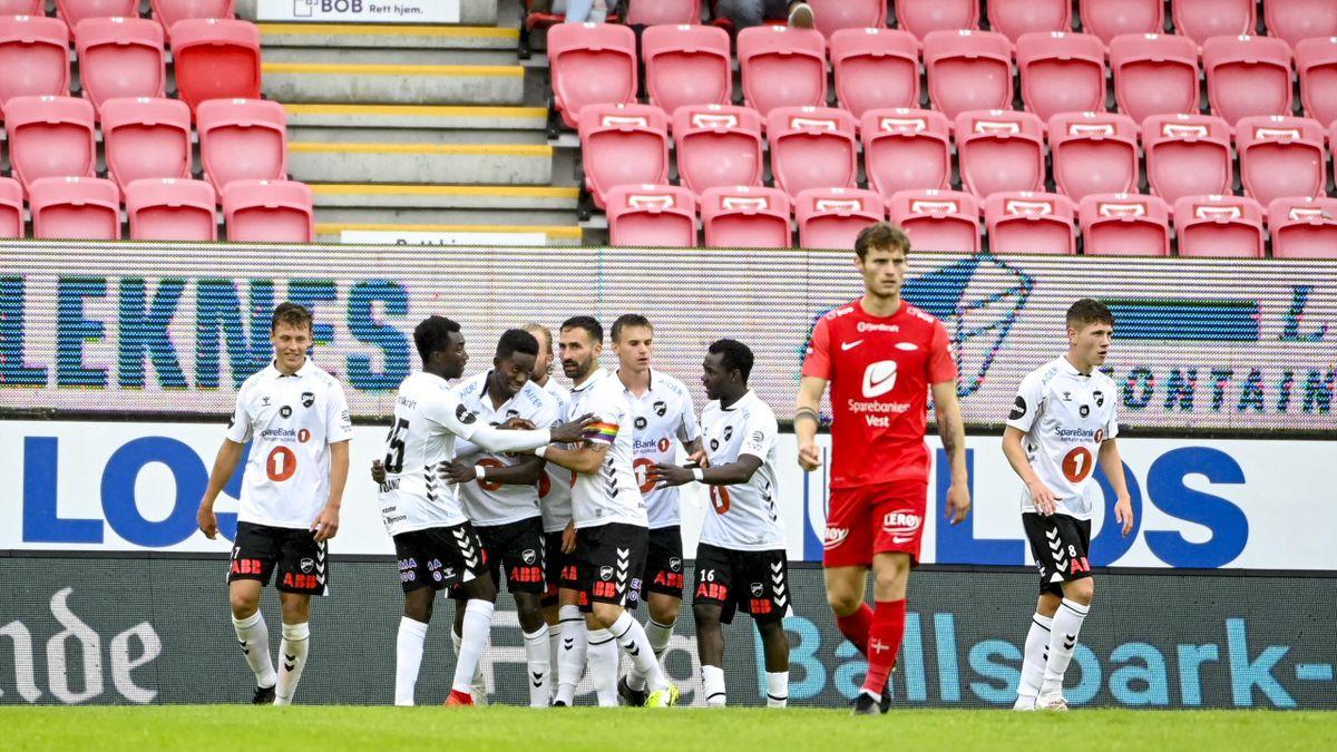 Bakenga og Odd feirer 1-0 mot Brann