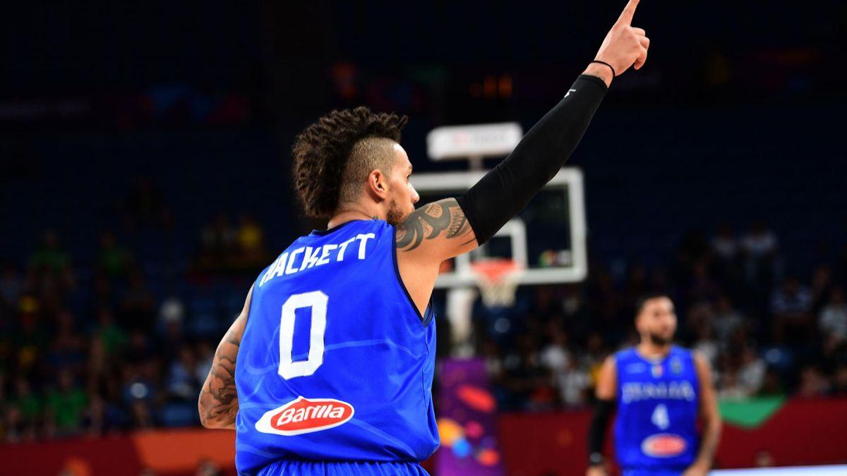 Daniel Hackett, Finlandia-Italia Eurobasket 2017