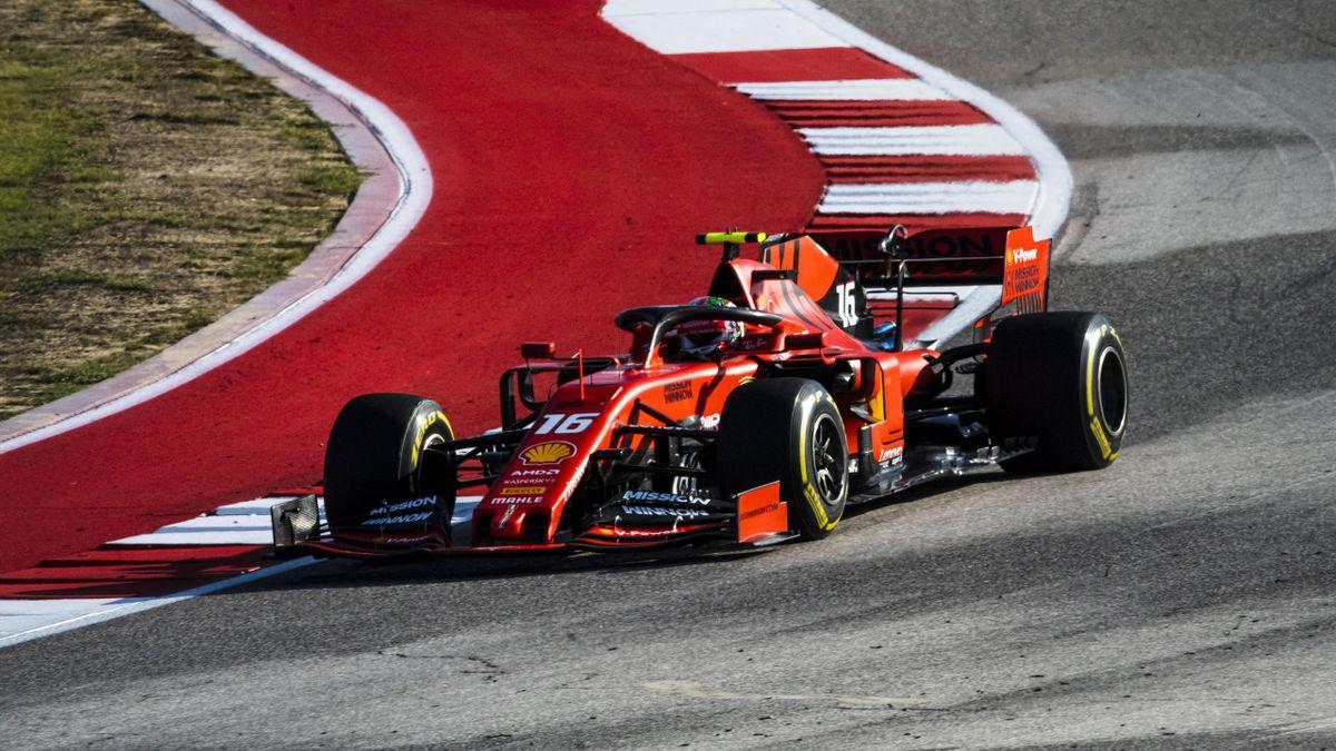 Charles Leclerc (Ferrari) - GP of United States of America 2019