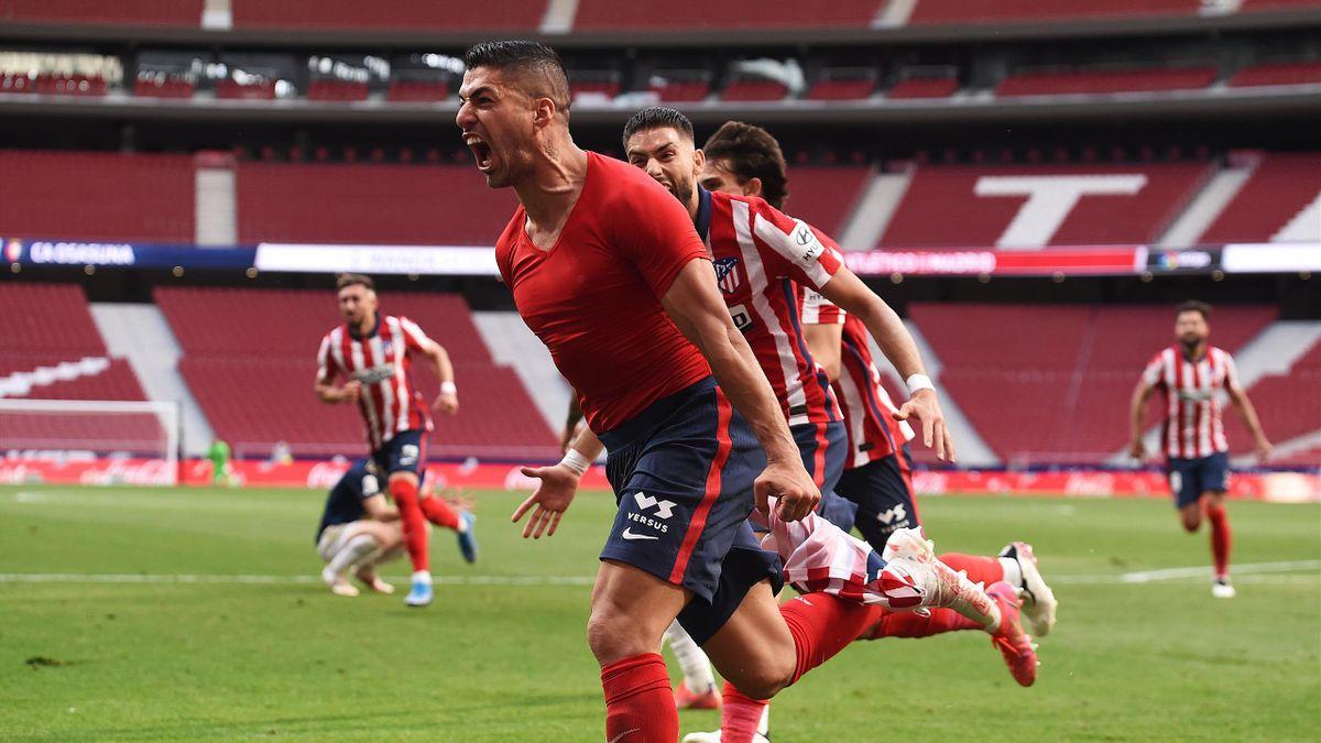 Luis Suarez, Atletico de Madrid v C.A. Osasuna