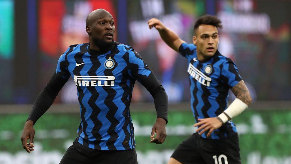 Romelu Lukaku e Lautaro Martinez, Inter, Serie A 2020-21