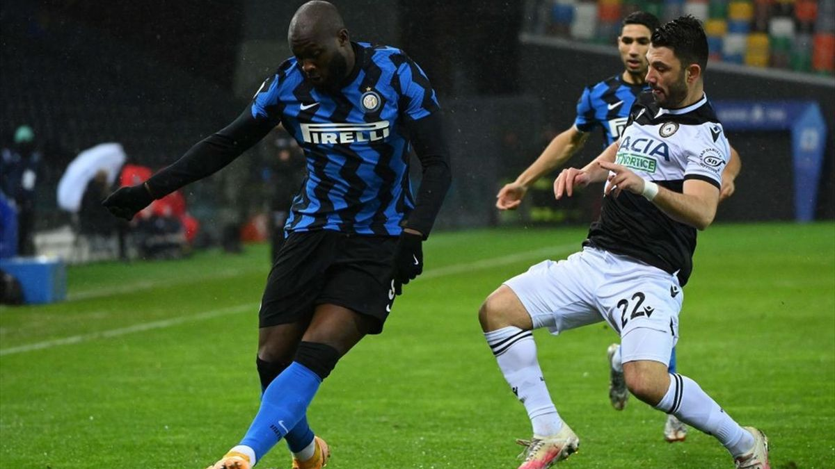 Lukaku - Udinese-Inter - Serie A 2020/2021 - Getty Images