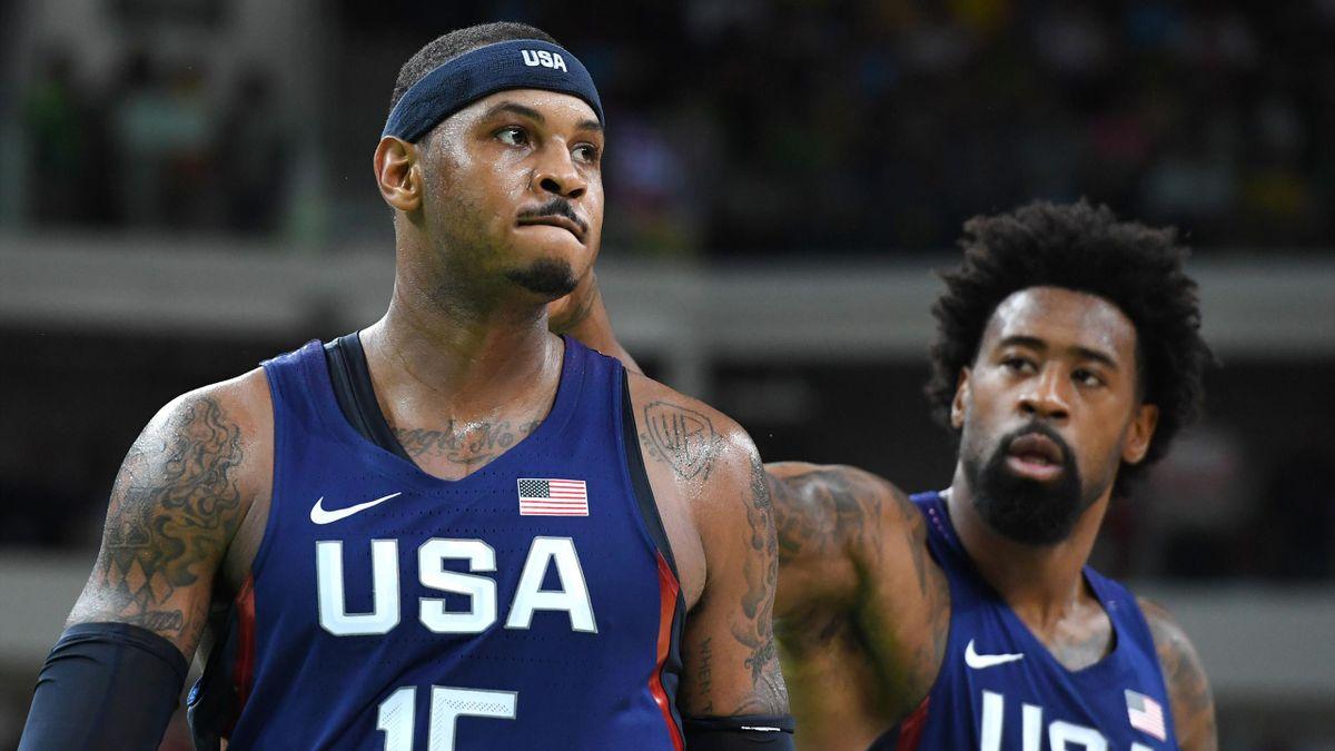 Carmelo Anthony führt die USA zum sieg über Australien.