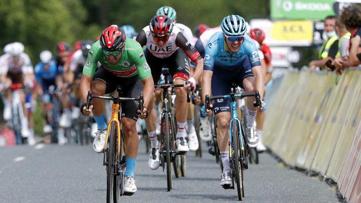 Colbrelli erkämpft sich seinen ersten Tagessieg: Highlights der 3. Etappe