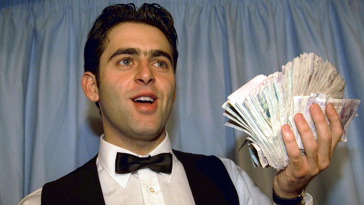 Ronnie O'Sullivan a câștigat £147,000 pentru acel 147 in 1997.