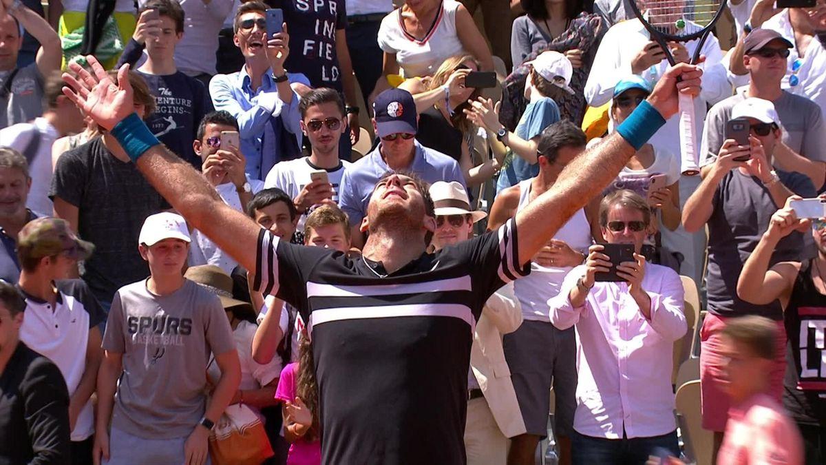 French Open highkights : Cilic v Del Potro