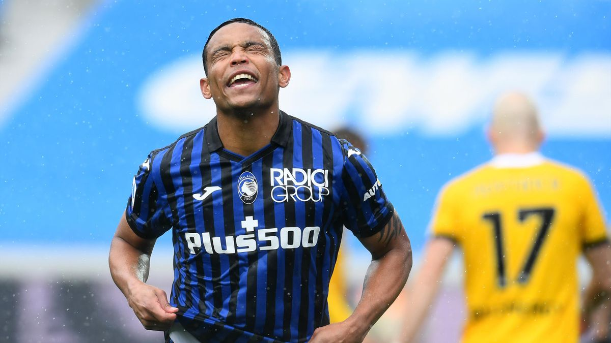 Luis Muriel porta l'Atalanta in vantaggio con l'Udinese