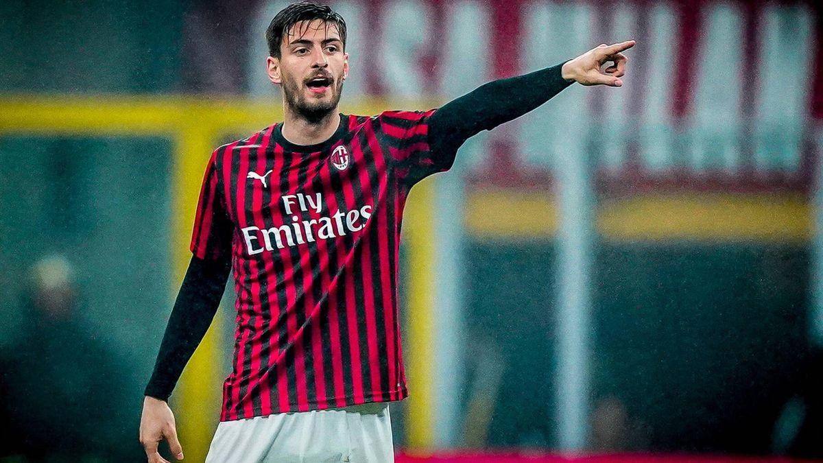 Matteo Gabbia - Milan-Torino - Serie A 2019/2020 - Imago pub in ITAxGERxSUIxAUT only