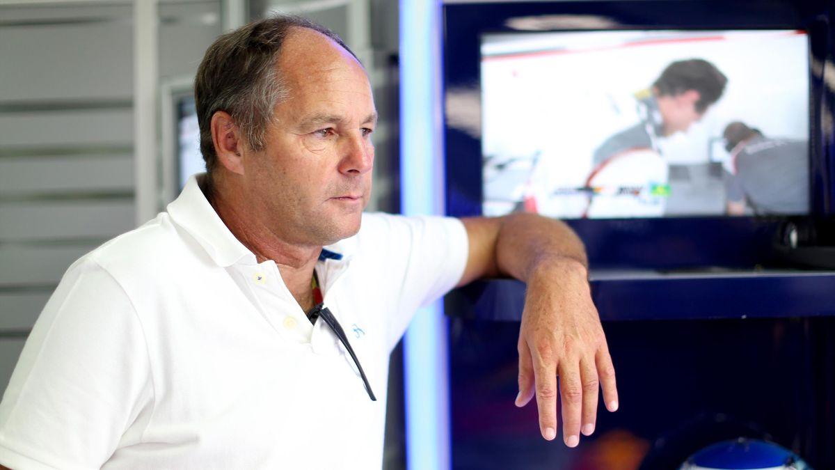 Gerhard Berger au Grand Prix d'Allemagne 2014