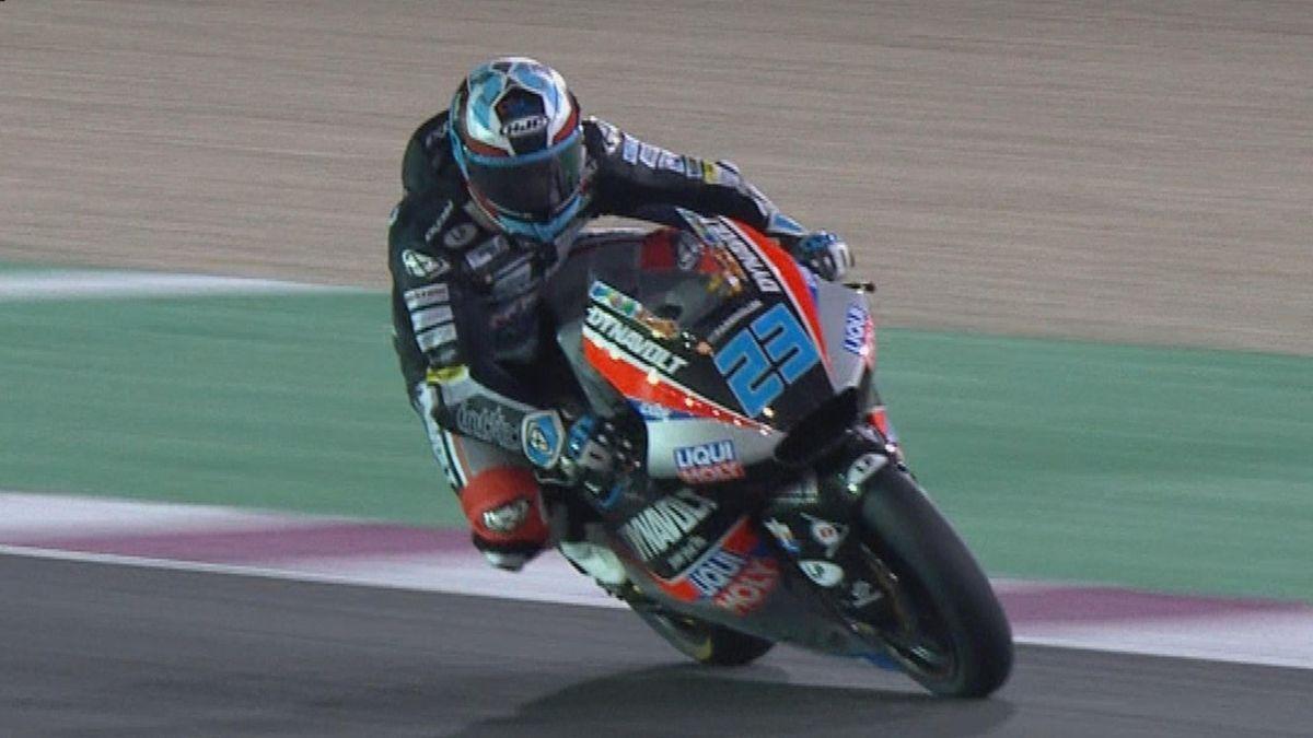 Moto GP Qatar - Schrotter first place in Moto 2 Qualifying 2
