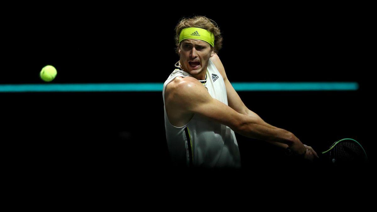 Alexander Zverev beim ATP-Turnier in Rotterdam