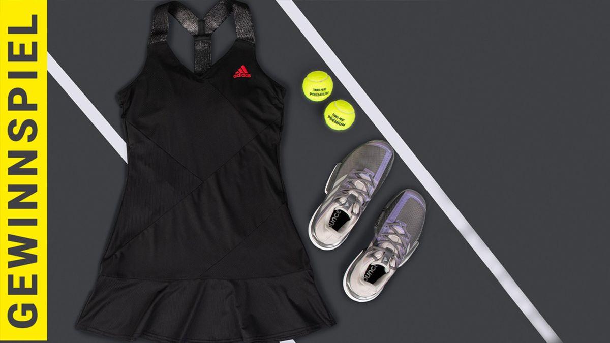 Tennis Point und Eurosport verlosen das aktuelle Outfit von Maria Sakkari