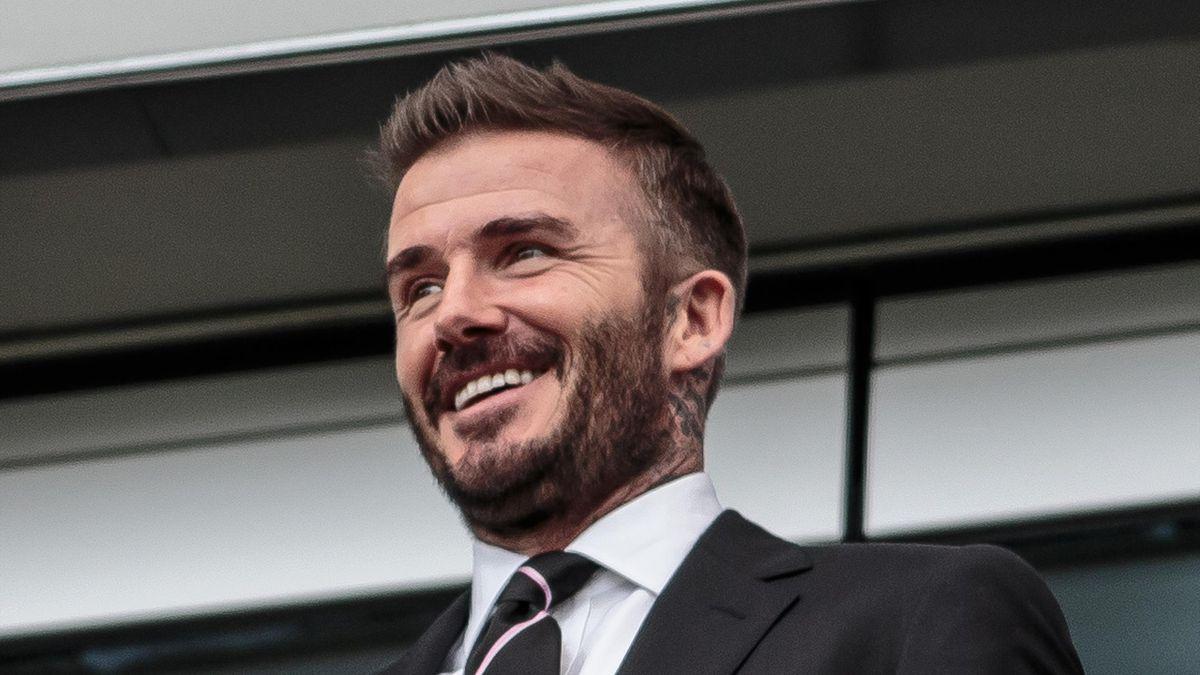 David Beckham, co-owner of Inter Miami