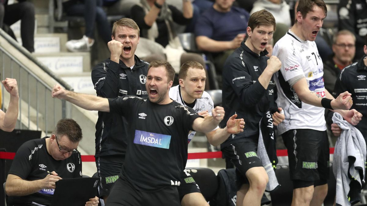 Elverum vinner kvartfinale sluttspill menn 2017