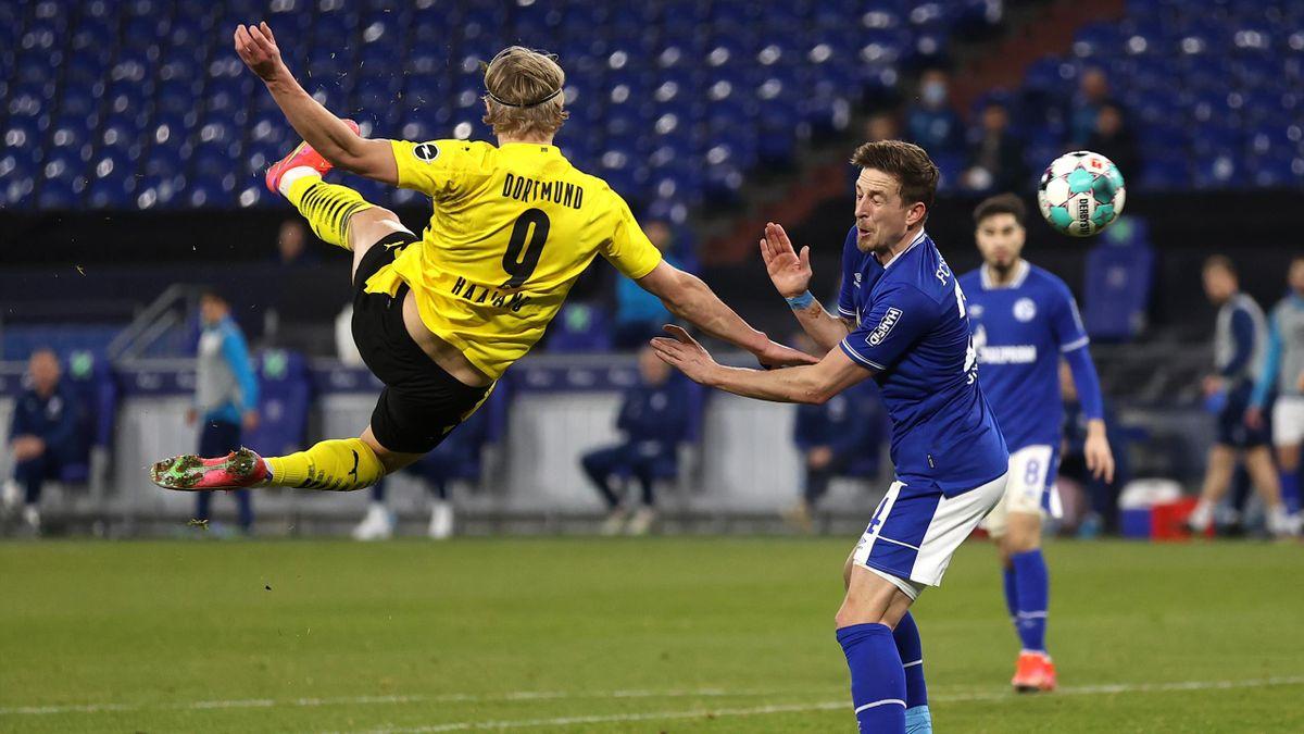 FC Schalke 04 - Borussia Dortmund | Erling Haaland