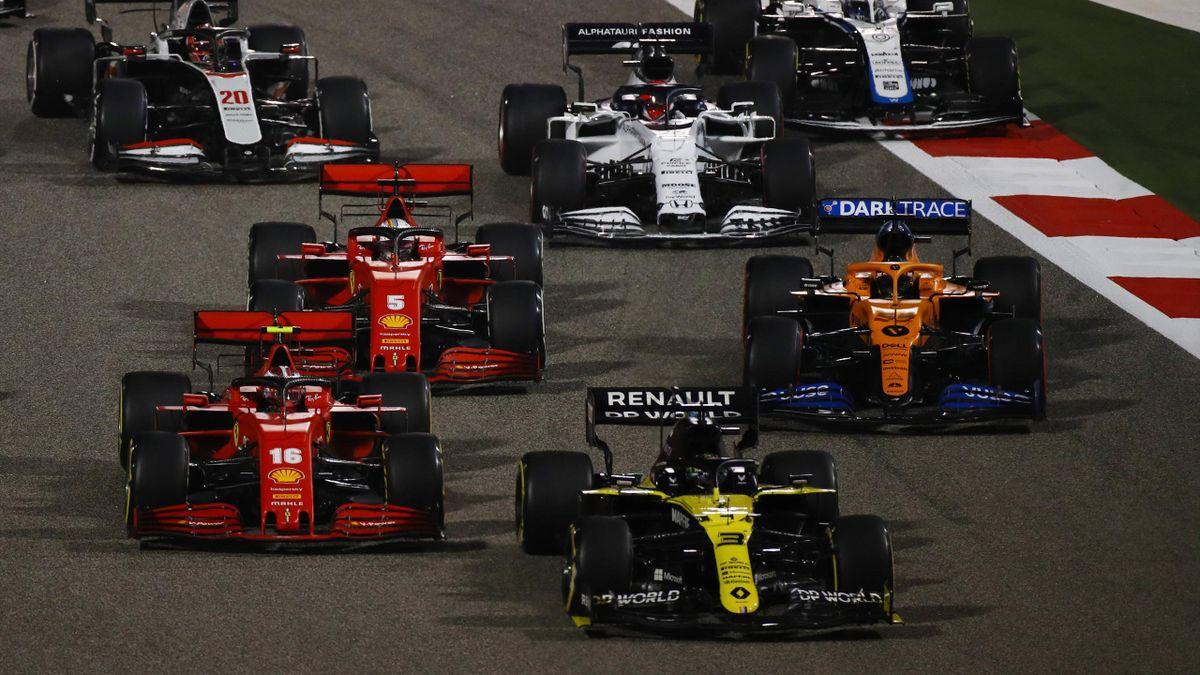 Die Formel 1-Stars beim Rennen in Bahrain 2020