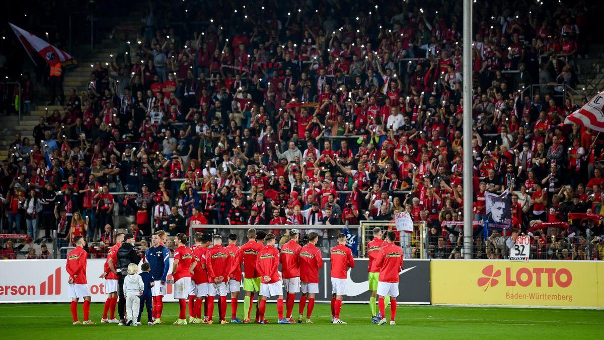 Freiburg siegt beim letzten Spiel im Dreisamstadion