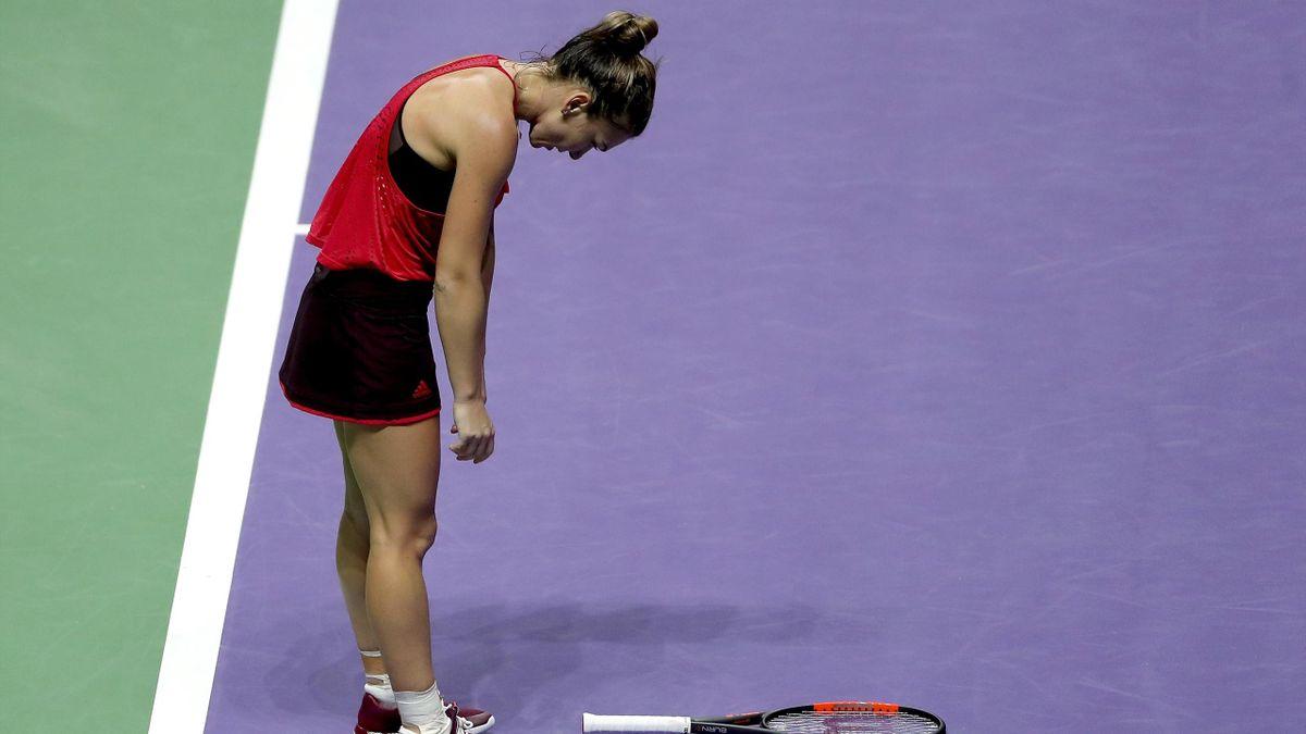 WTA Finals 2017, Elina Svitolina b Simona Halep