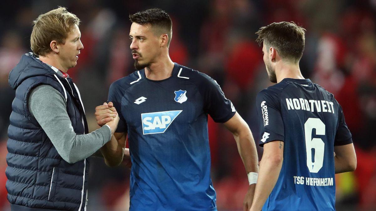 Julian Nagelsmann will mit der TSG 1899 Hoffenheim international siegen