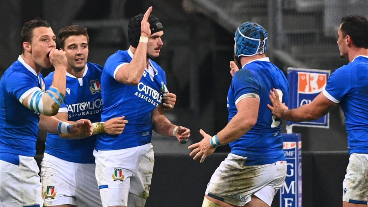 Carlo Canna - Francia-Italia - Autumn Nations Cup 2020 - Getty Images