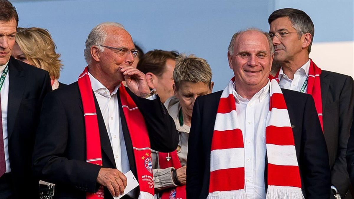 Franz Beckenbauer und Uli Hoeneß
