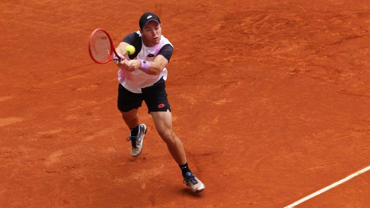 Dominik Koepfer ist beim Masters in Madrid in der zweiten Runde ausgeschieden