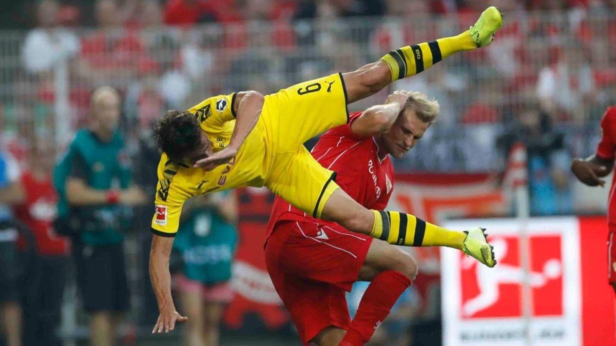 Union Berlin gegen Borussia Dortmund