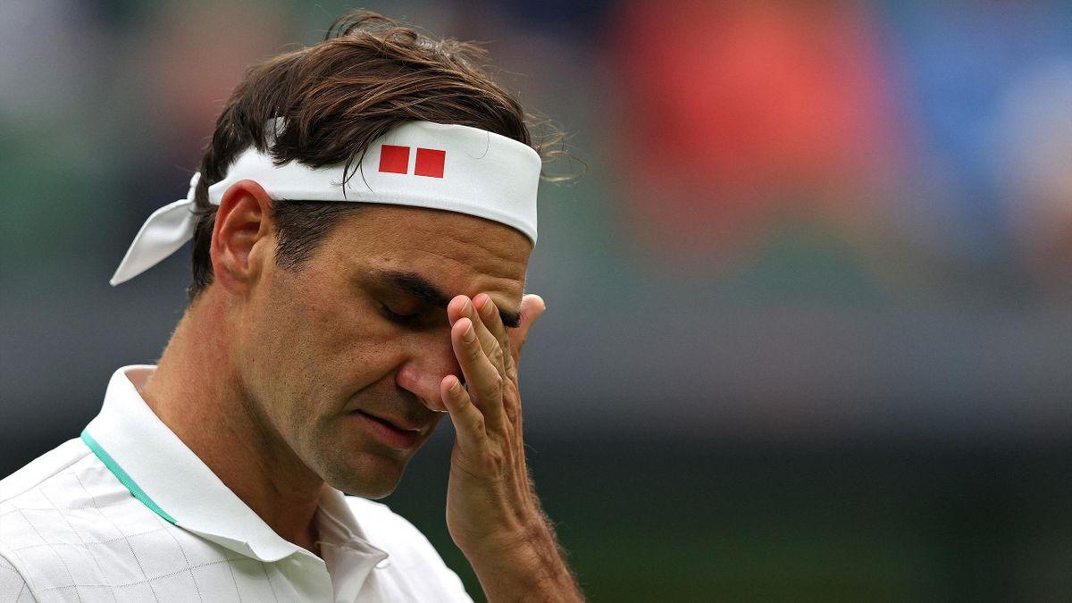 Roger Federer in Wmbledon