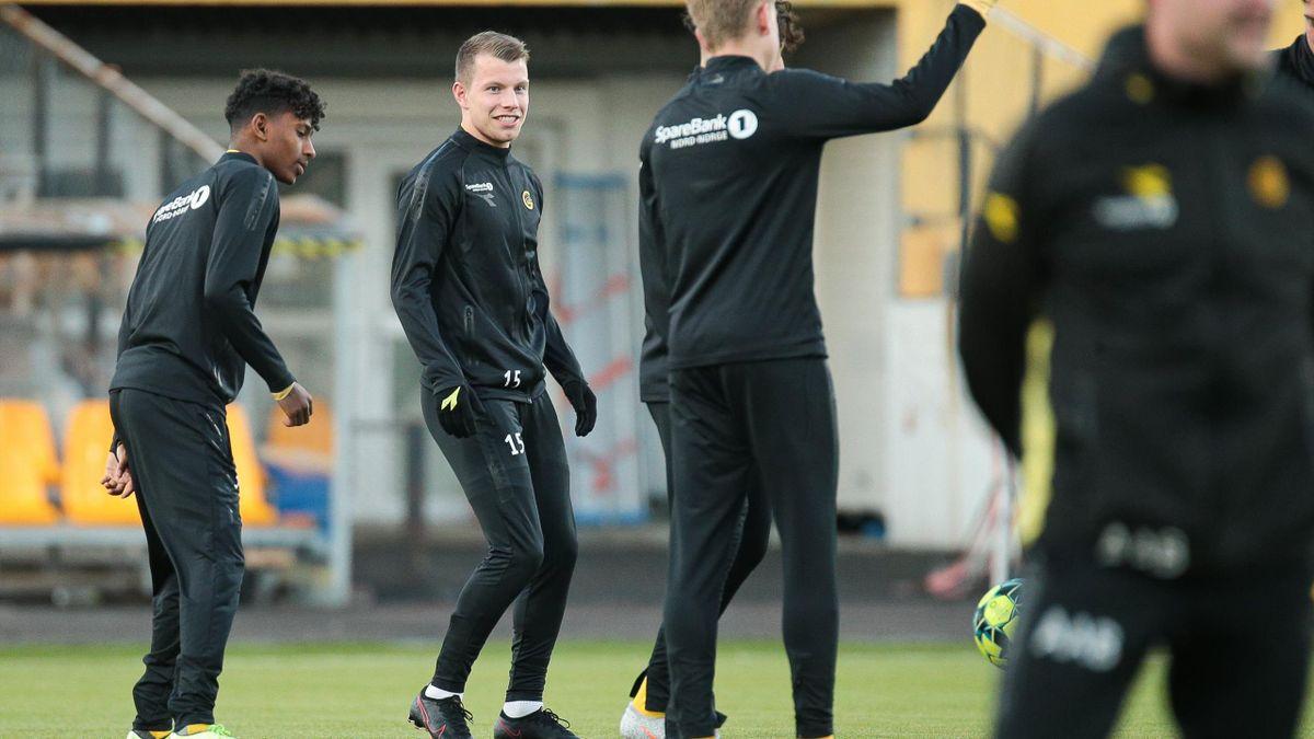 Bodø/Glimt-spiller Runar Hauge lånes ut til Stjørdals-Blink i forkant av 2021-sesongen.