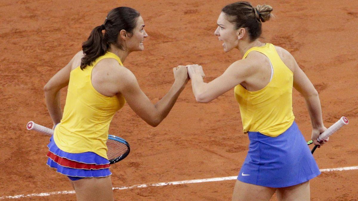 Simona Halep & Monica Niculescu