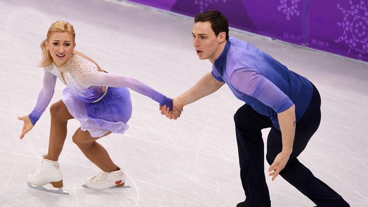 Olympia 2018 - Eiskunstlauf: Savchenko und Massot holen Gold im Paarlauf