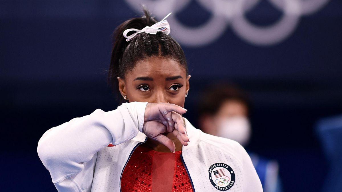 Симона Байлз, США, спортивная гимнастика, Олимпиада в Токио-2020