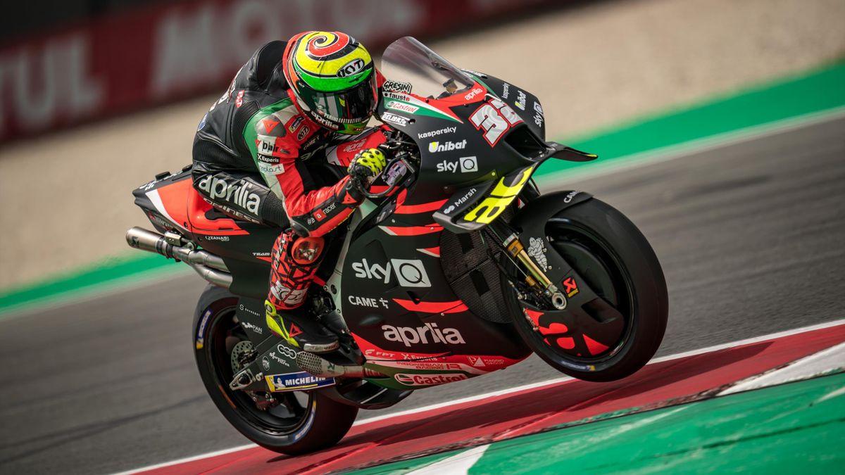 Lorenzo Savadori fährt seine erste MotoGP-Saison