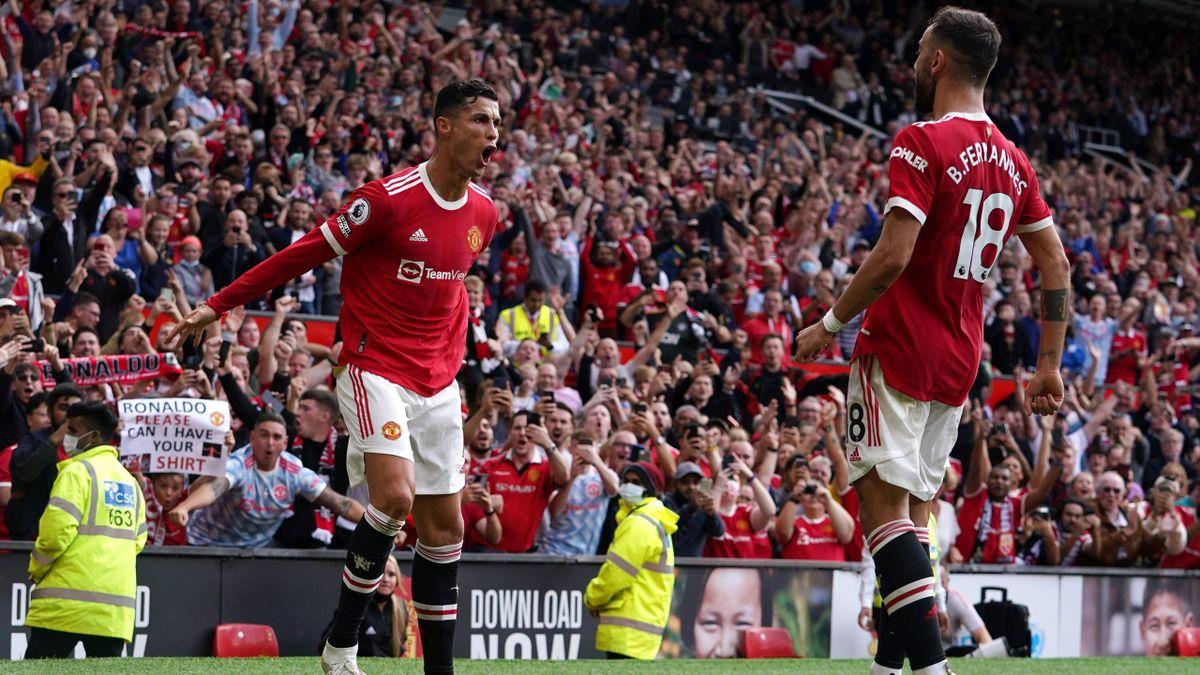 Cristiano Ronaldo (links) und Bruno Fernandes - Manchester United