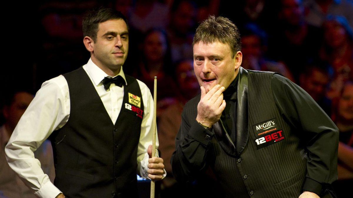 Ronnie O'Sullivan (links) hat viel Respekt vor Jimmy White