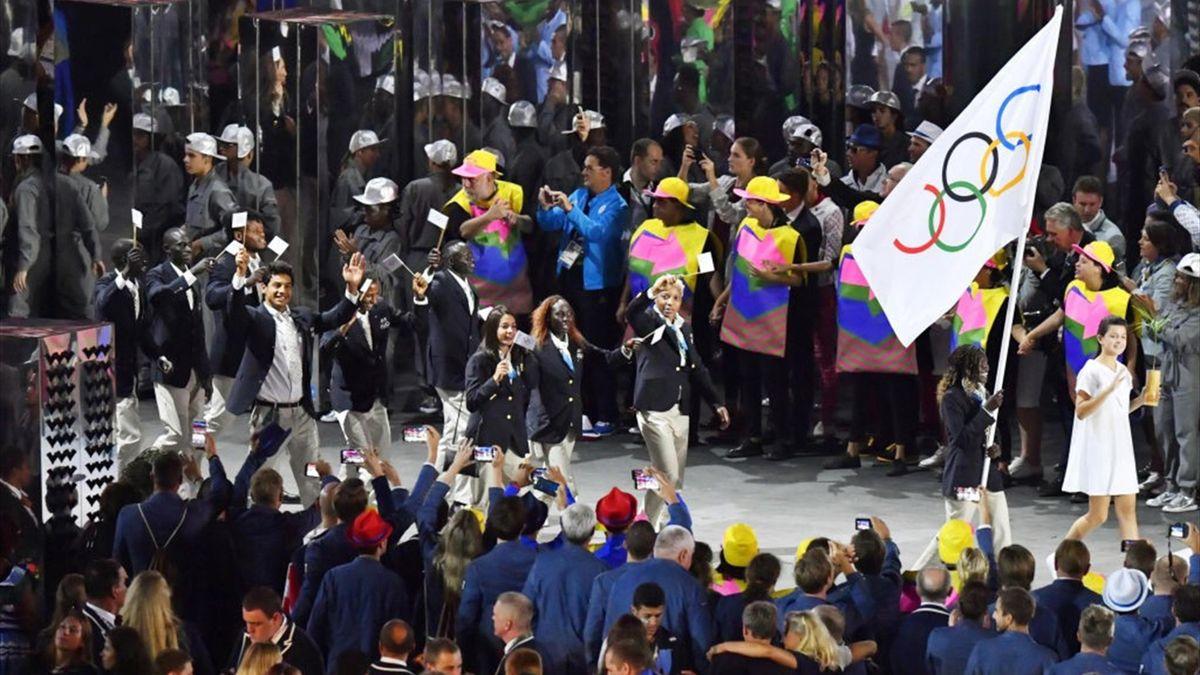 Echipa Olimpică a Refugiaților la JO 2016