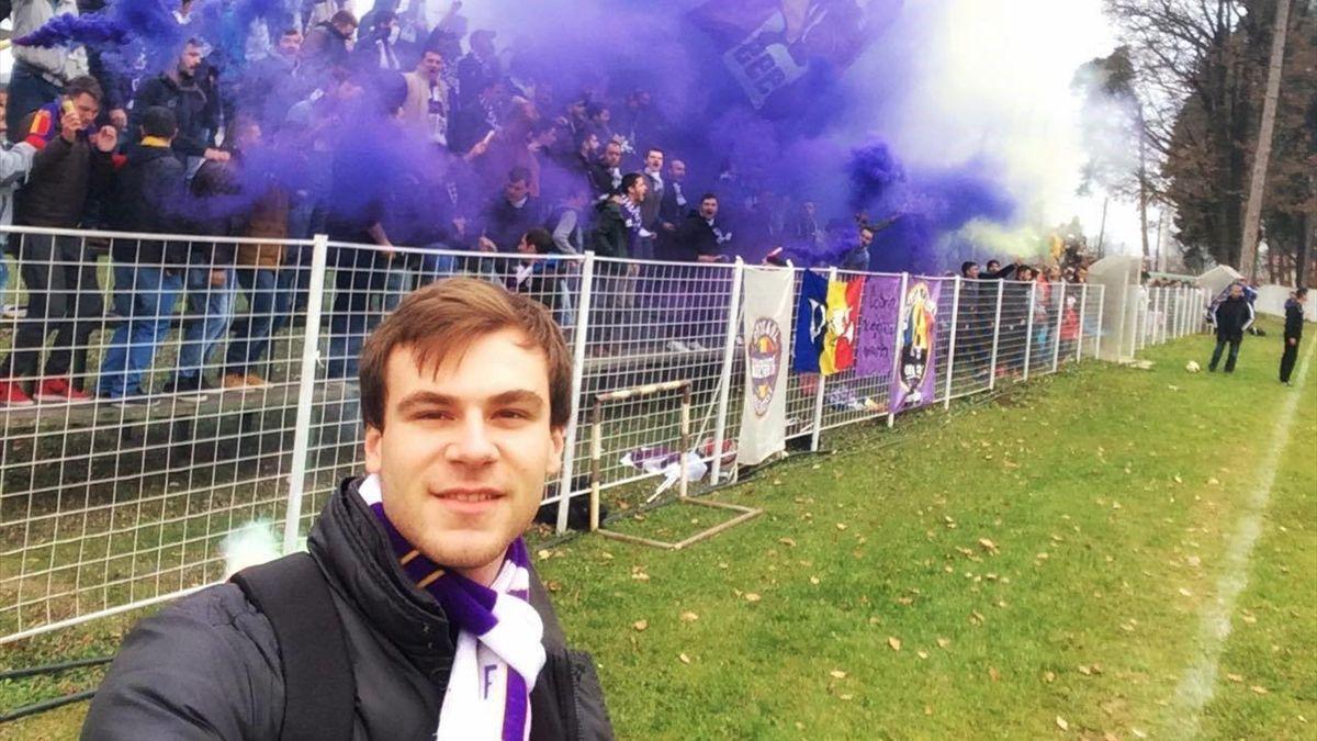Andrei Otineanu, suporter al lui FC Argeș
