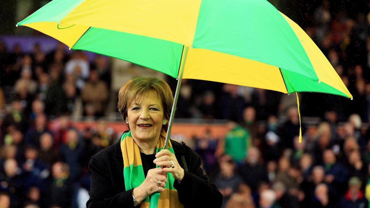 Delia Smith, propriétaire de Norwich